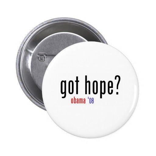 got hope? pinback buttons