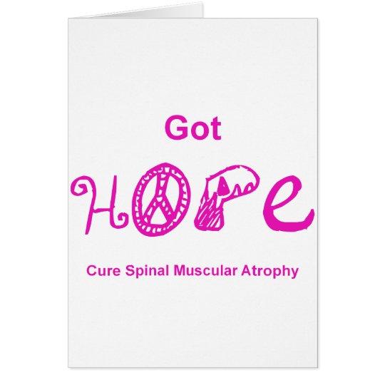 Got Hope - Pink Card