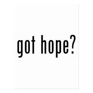 got hope? postcard