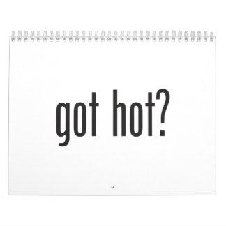 got hot wall calendar