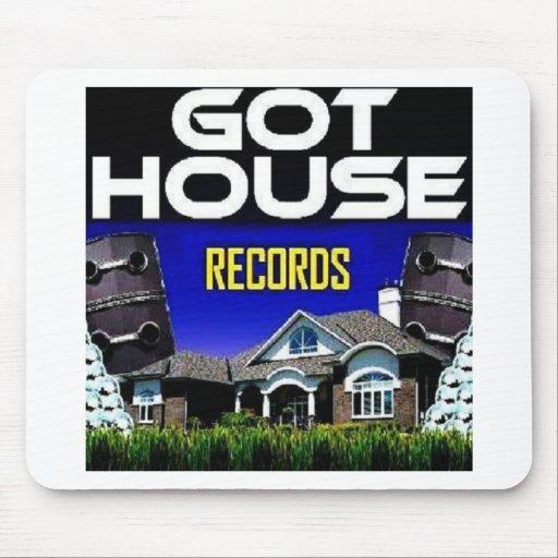 Got House Records Mousepads