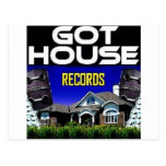 Got House Records Post Cards