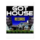 Got House Records Postcard