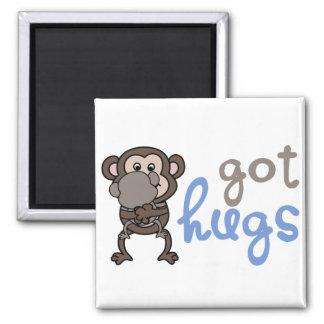 Got hugs imán cuadrado