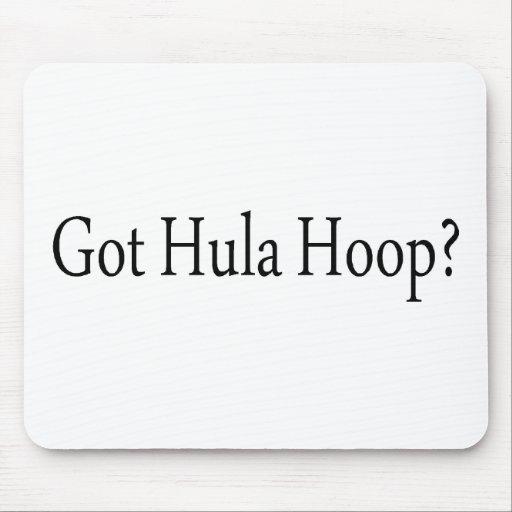 Got Hula Hoops Mouse Pad