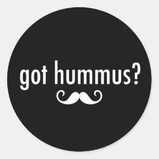 Got Hummus? Classic Round Sticker