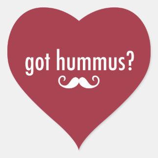 Got Hummus? Heart Sticker