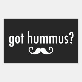 Got Hummus? Rectangular Sticker