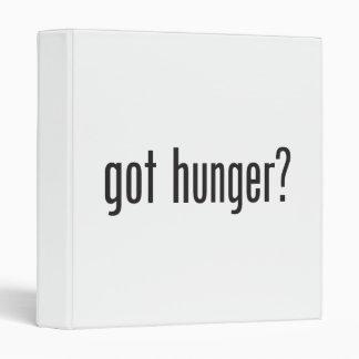 got hunger vinyl binders