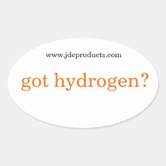 got hydrogen? stickers