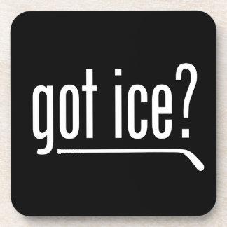 got ice? (hockey) drink coaster