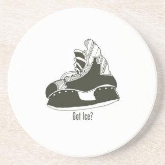 Got Ice? Hockey Skate Drink Coaster