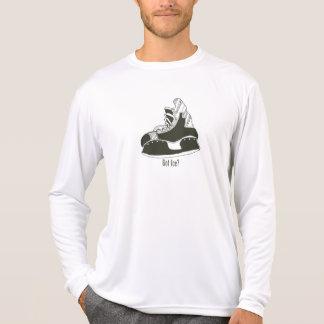 Got Ice? Hockey Skate Longsleeve Microfiber Shirts