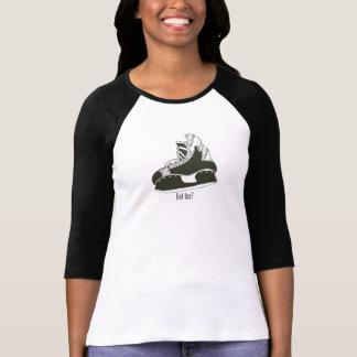 Got Ice? Hockey Skate Women's Baseball Shirt
