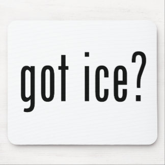 got ice? mouse pad