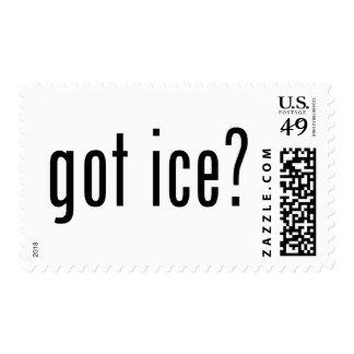 got ice? stamp