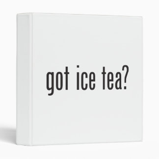 got ice tea binder