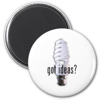 Got Ideas? Refrigerator Magnets