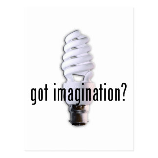 Got Imagination Postcard
