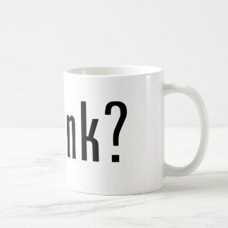 got ink? classic white coffee mug