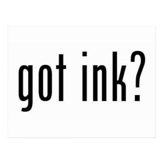 got ink? postcard
