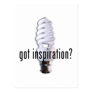 Got Inspiration? Postcard