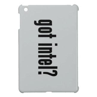 got intel? iPad mini case