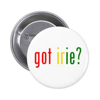 got irie? pinback button
