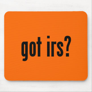 got irs? mouse pad