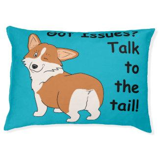 Got Issues Corgi Pet Bed