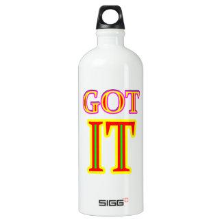 Got IT jgibney The MUSEUM Zazzle Aluminum Water Bottle