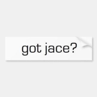 Got Jace? Bumper Sticker