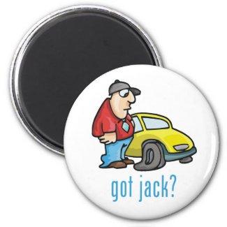 Got Jack? Magnet magnet