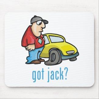 Got Jack? Mousepad mousepad