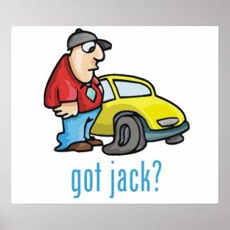 Got Jack? Poster print