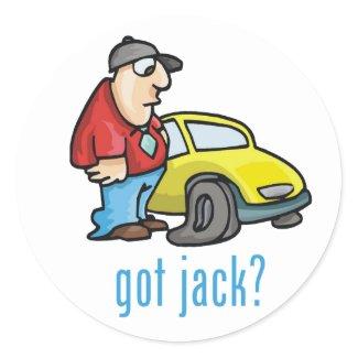 Got Jack? Sticker sticker