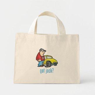 Got Jack? Tote Bag bag
