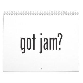 got jam calendar