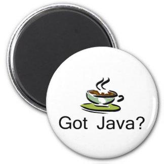 Got Java 2 Inch Round Magnet