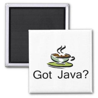 Got Java? 2 Inch Square Magnet