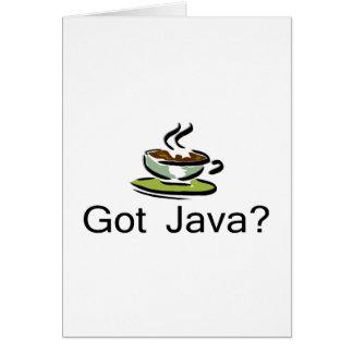Got Java Card