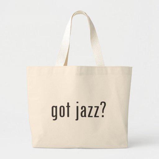 got jazz? canvas bag