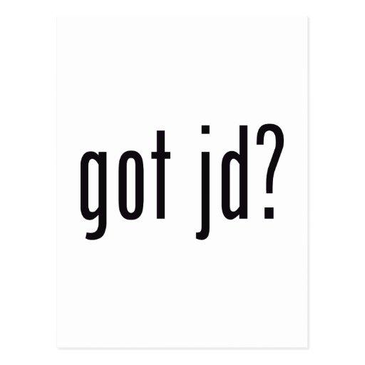 got jd? postcard