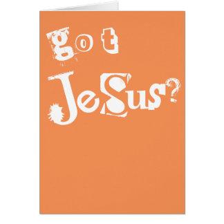 Got Jesus Card