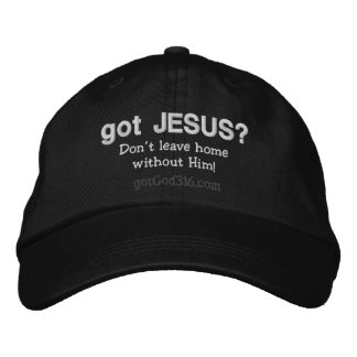 got Jesus? gotGod316.com Wool Embroidered Baseball Cap