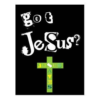 Got Jesus Saves Postcard