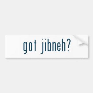 got jibneh bumper sticker