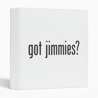 got jimmies 3 ring binder