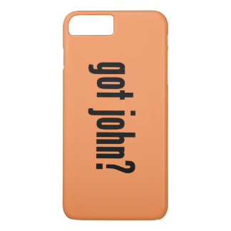 got john? iPhone 8 plus/7 plus case