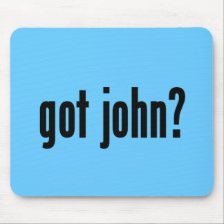 got john? mouse pad